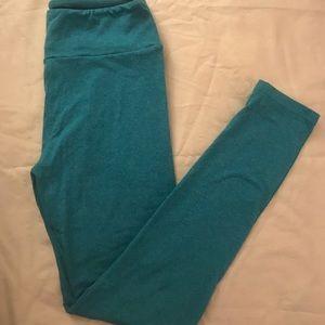 LulaRoe Blue Leggings